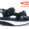 MBT sandal KISUMU 3S Navy Metallic, damesandal