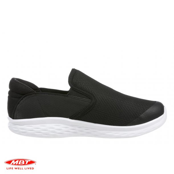 MBT sko MODENA SlipOn Black, herresko