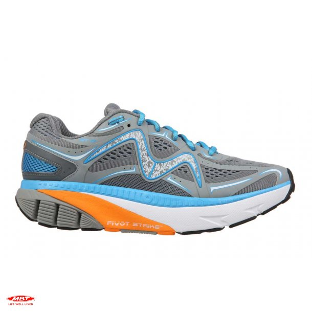 MBT PERFORMANCE løbesko GT 17 M Gray-Blue-Orange-White, herre