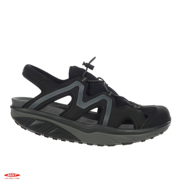 MBT sandal JEFAR 6 TRAIL BLACK/CHARCOAL GRAY