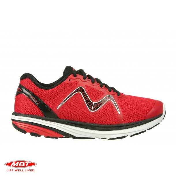 MBT LIGHTWEIGHT løbesko SPEED 2 W Chili Red , dame