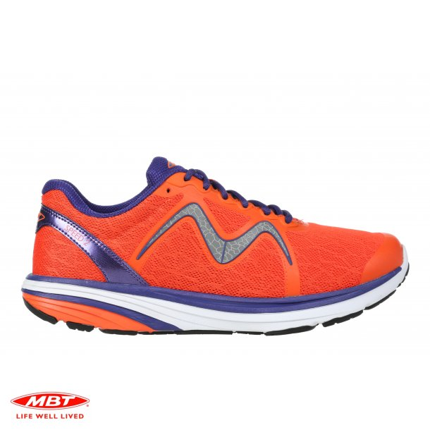 MBT LIGHTWEIGHT løbesko SPEED 2 W Orange Navy, dame