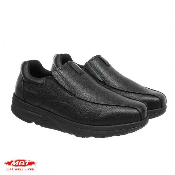 MBT TABAKA Black Nubuck, MBT sko, herre