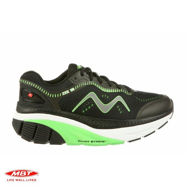 MBT CUSHIONING løbesko ZEE 18 M Black Green, herre