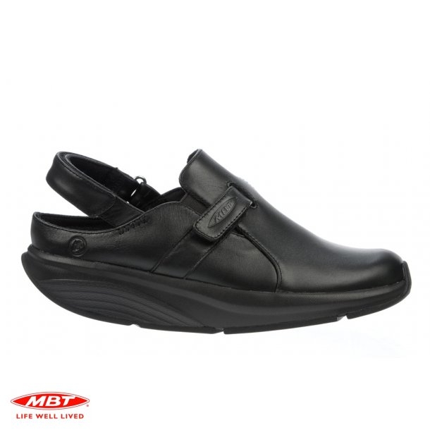 MBT sko FLUA Black, damesandal
