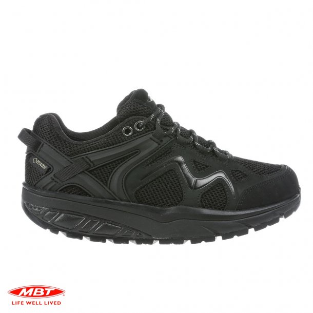 MBT sko HODARI GTX BLACK, SORT HERRESKO