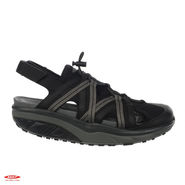 MBT sandal JASIRA 6 BLACK/CHARCOAL GRAY