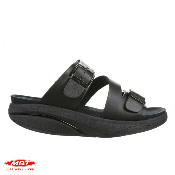 MBT sandal Kace Black/Black, damesandal