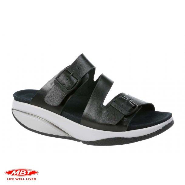 MBT sandal Kace Black Metallic