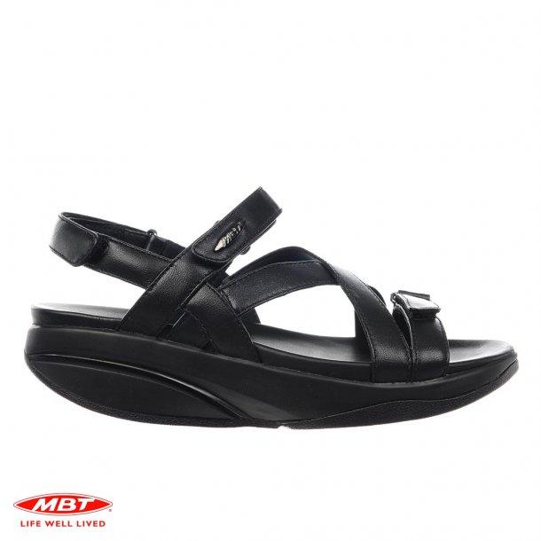 MBT sandal KIBURI Black, damesandal
