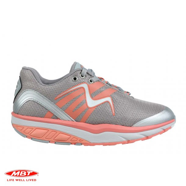 MBT sko LEASHA GREY/PEACH
