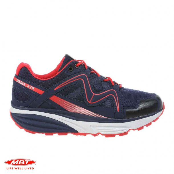 MBT SIMBA ATR NAVY RED, damesko