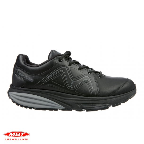 MBT SIMBA Trainer Black, herresko