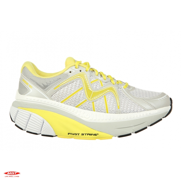 MBT CUSHIONING løbesko ZEE 16 W White Yellow, dame
