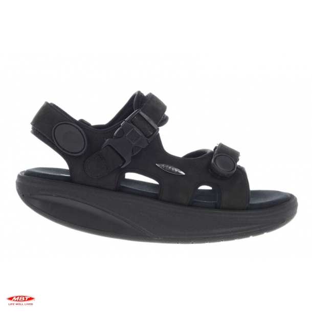 MBT sandal KISUMU Classic Black, damesandal